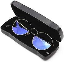 Lentes Estuche para Gafas Gafas de Sol Estuche Protector para la mayoría de los Lentes y Lentes de tamaño estándar Lentes escarpadas (Color : Black, Size : Free Size): Amazon.es: Hogar