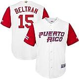 Carlos Beltran Jersey 2017 World Baseball Classic Jerseys Mens White XXXL