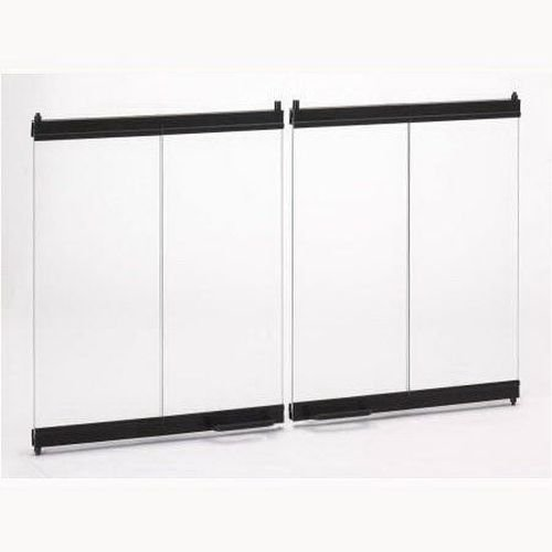 Superior BDB42 Standard Bi-Fold Door in Black for 42