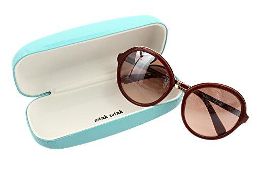 KATE SPADE New York Annabeth Sunglasses, - Spade Kate Round Sunglasses