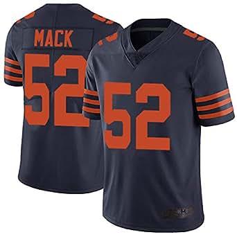 Lionel Buck 2018-2019 Chicago Bears #52 Oakland Raiders Khalil Mack Navy Blue Alternate Men's Stitched Vapor Untouchable Limited Jersey Pro Bowl (XL)