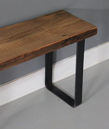 modern bench solid reclaimed wood bench handmade furniture dining bench
