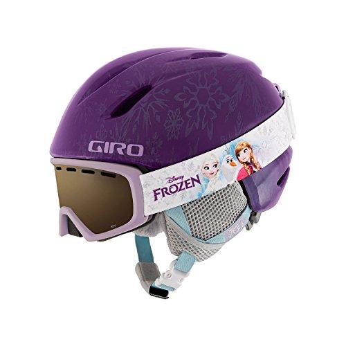 Giro Launch CP Kids Snow Helmet w/ Matching Goggles Purple Disney Frozen XS (48.5-52cm)