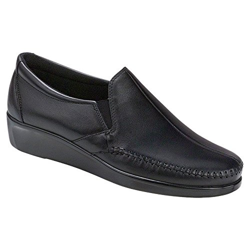 Sas Womens Dream Slip On, Noir, 7.5m
