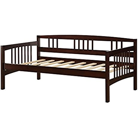 Dorel Living Kayden Daybed Solid Wood Twin Espresso