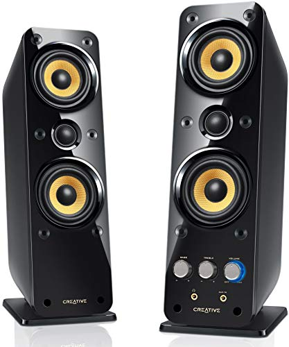 Creative GigaWorks T40 Series II 2.0 Multimedia Speaker System with BasXPort Technology (Office Bose Speakers)