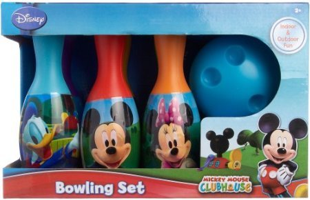 Disney Mickey Mouse Clubhouse Bowling Set MULTI