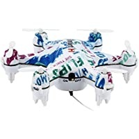 Dwi Dowellin RC Mini Drone 6-axis Hexacopter with Camera 0.3MP FPV Height Hold Phone WiFi Control Hexacopter cheerson CX-37 white