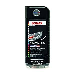 Sonax Polish & Wax Color Black