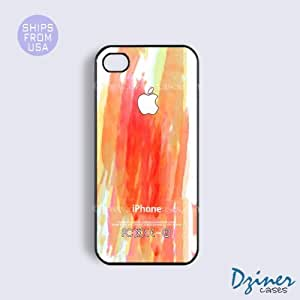 iPhone 6 Plus Tough Case - 5.5 inch model - Colorful Brush Design iPhone Cover