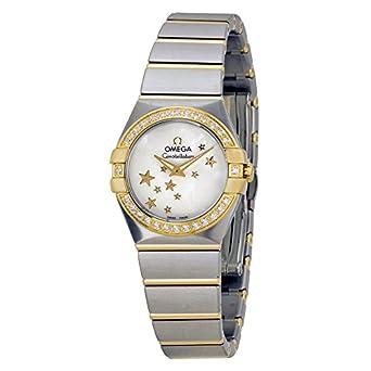 Reloj de Mujer Omega Constellation 123,25,24,60,05,001: Amazon.es: Relojes