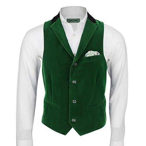 Xposed - Gilet - Homme vert vert émeraude poitrine  60