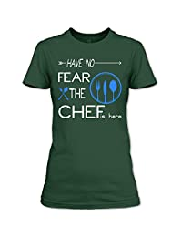 Have No Fear The Chef Is Here T Shirt, Coolest Chef T Shirt