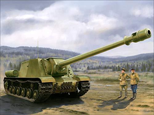 (Military SPG Painting Art ISU-152, BL-10 Wall Art, Pop Art, Poster, Art Prints | Rare Posters)