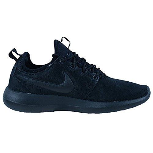Nike Nuove Donne Roshe Due Scarpe (7, Nero / Nero / Nero)