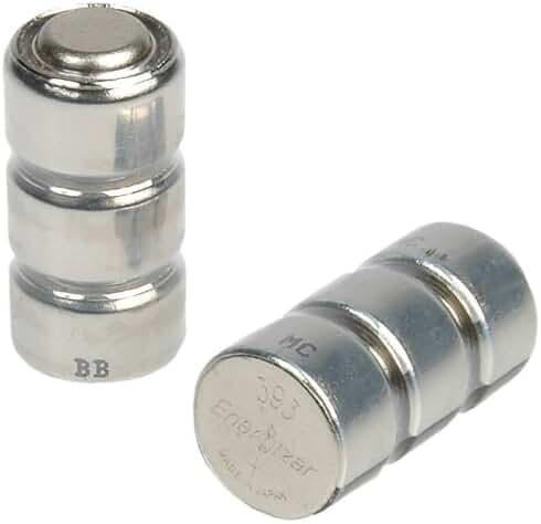 LaserMax 3X393 Silver Oxide Batteries, 5 Pack
