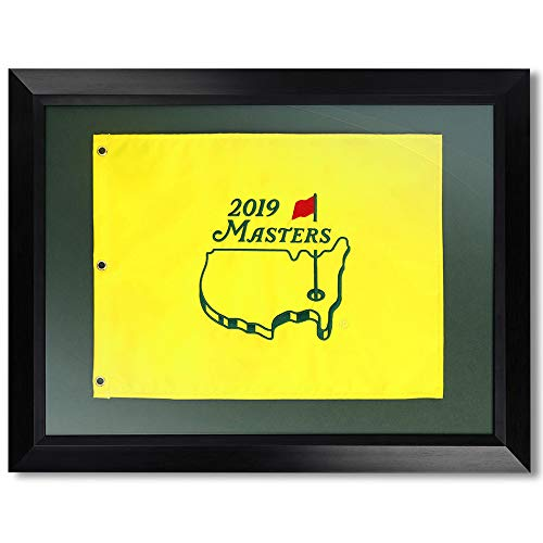 Authentic Masters Framed 2019 Pin Flag
