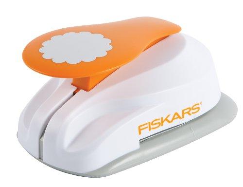 Fiskars 4X-Large Lever Punch, Pretty Scallops