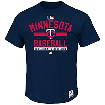 MLB Men's Authentic Collection Team Property T-Shirt (Medium, Minnesota Twins)