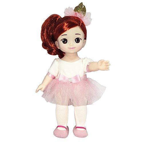 English Package Kongsuni Series Ballerina Eve Big Doll for Roleplay Balletdoll Doll with Ballet Tutu Dress Babydoll