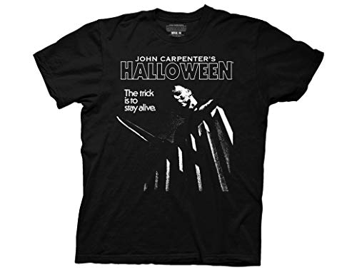 Ripple Junction Halloween The Trick to Stay Alive Adult T-Shirt XL Black ()