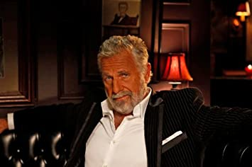 """The Most Interesting Man in the World Photo 13x19"""""""