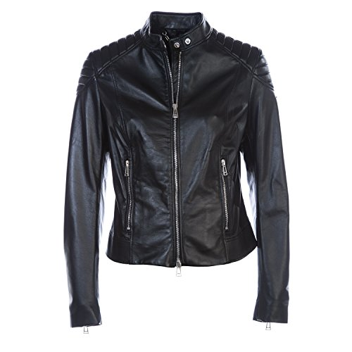 BELSTAFF Mollison Ladies Leather Jacket in Black 46