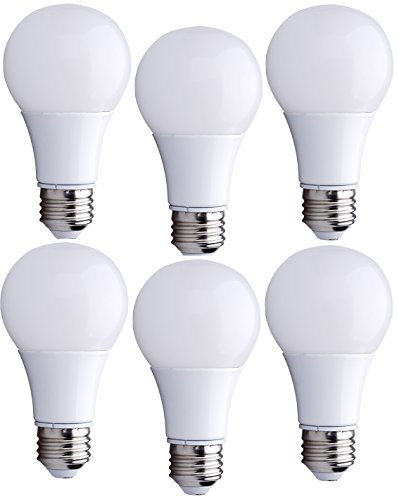 Bioluz LED 40 Watt LED Light Bulbs (Uses 6 Watts) ECO Series Warm White 2700K LED Light Bulbs (White Led Eco Led)