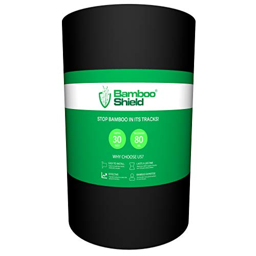 Bamboo Shield - 100 Foot Long x 30 inch x 80mil Bamboo Root Barrier/Water Barrier