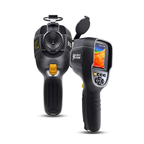 PerfectPrime IR0019, Infrared (IR) Thermal Imager & Visible Light Camera with IR Resolution 76,800 Pixels & Temperature Range from -4~572°F, 9 Hz Refresh Rate