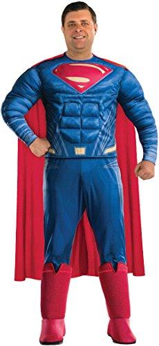 Rubie's Justice League Deluxe Adult Superman Costume, Plus