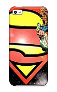 Iphone 5c Case Slim [ultra Fit] Supergirl Breaking Chains Protective Case Cover