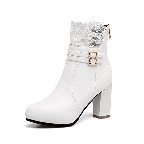 BalaMasaAbl09457 - A Collo Basso donna, Bianco (White), 35 EU