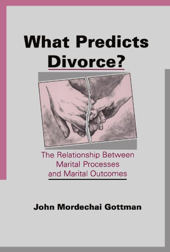 What Predicts Divorce?: The Relationship Between Marital Processes and Marital Outcomes by Brand: Psychology Press