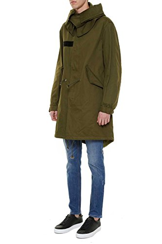 Givenchy Homme 17S0656727306 Vert Coton Blouson