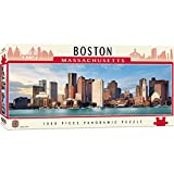 MasterPieces Cityscape Panoramics 1000 Puzzles Collection - Boston Panoramic 1000 Piece Jigsaw Puzzle