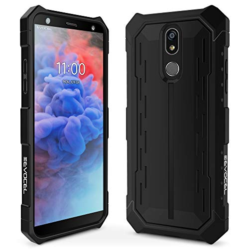 - LG Stylo 5 Case, Evocel [Heavy Core Series] Premium Full Body Case with Glass Screen Protector for LG Stylo 5, Black