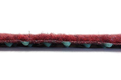 Terrasse Balcon Jardin Rouge 1,33m x 4,00m Tapis Type Gazon Synth/étique au m/ètre etc Moquette dext/érieur Tapis Gazon Artificiel GREEN avec Picots de Drainage