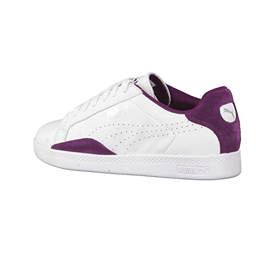 Puma Purple White dark Puma Sneaker Damen Classic weiß Lo Match wx6Y6qnAO