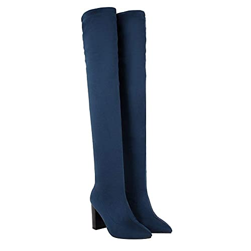 c2593f18ae Zapatos Mujer Verano 2018 Sandalias Vestir Botas Altas hasta La Rodilla para  Mujer Botas Altas hasta La Rodilla Botas Altas hasta Los Muslos: Amazon.es:  ...