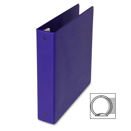 Samsill Corporation 3-Ring Binder,W/Pckts,Vinyl,200 Sh Cap.,1