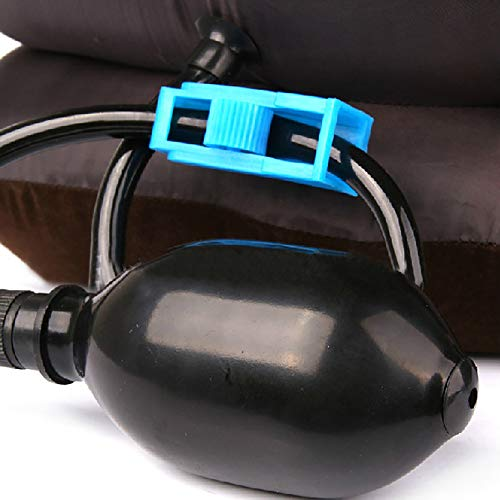Enshey Inflatable Neck Traction Pillow Blow Up Cervical Vertebra Tractor Traction Massage Neck Back Shoulder Pain by Enshey (Image #3)