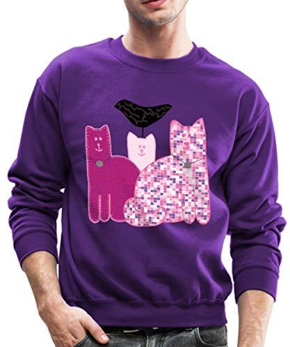 Spreadshirt Miranda Sings Merch Favorite Cats Crewneck Sweatshirt, M, -