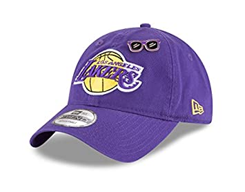 c8b7df1d8dc0e New Era LA Lakers NBA 2018 Draft 9TWENTY Cap  Amazon.co.uk  Sports ...