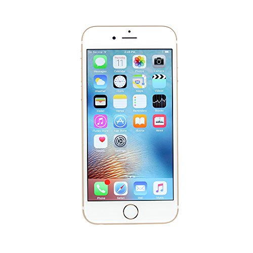 Apple iPhone 6S, Fully Unlocked, 16GB - Gold (Certified Refurbished)