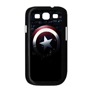 Diy Captain America Phone Case, DIY Hard Back Cover Case for Samsung Galaxy S3 I9300 Captain America