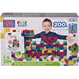 Mega Bloks First Builders 200 Piece Box of Bloks - Perfect Early Learning Toy For Age 1-5 Years by Bruin