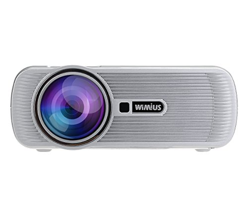 Wimius portable mini led projector 1200 lumens support for 1080p mini projector reviews