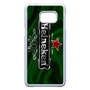 Pattern Hard Case Cover Samsung Galaxy S6 Edge Plus Cell Phone Case White Heineken Nivmk Back Skin Case Shell