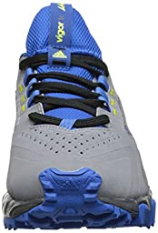 adidas Performance Vigor 5 TR K Trail Running Shoe (Little Kid/Big Kid), Grey/Onix, 12 M US Little Kid
